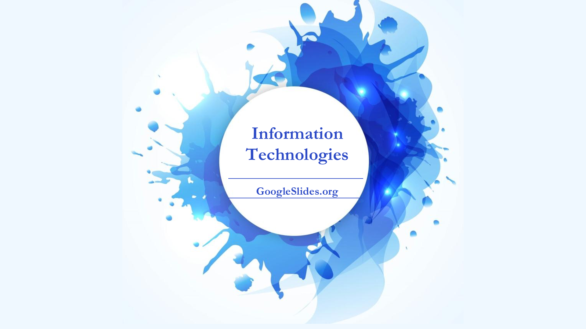 Information Technologies Backgrounds