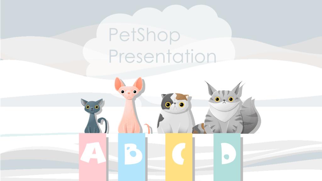 Petshop Presentation Template