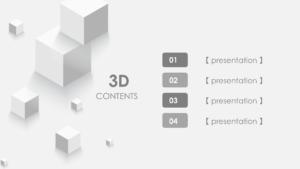 3D Content Template