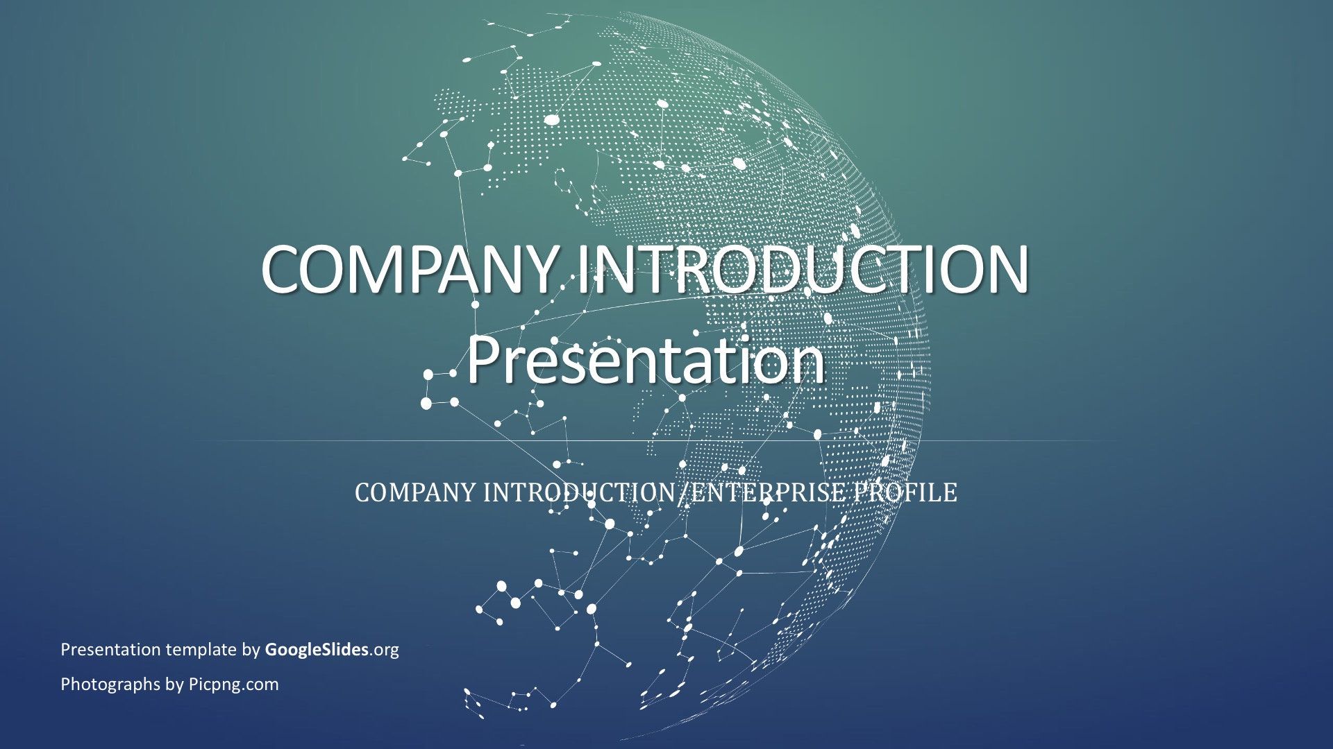 Company Introduction Powerpoint Template  U00b7 Business