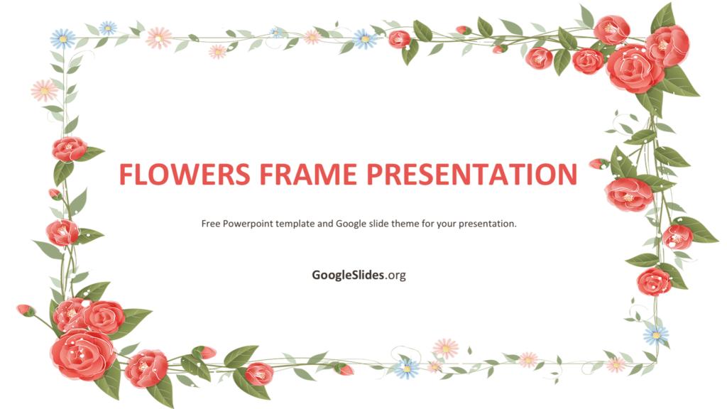 Flowers Frame Presentation