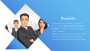 Powerpoint information template