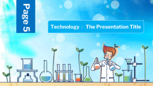 Chemistry Keynote template