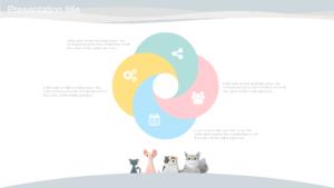 Animal cats powerpoint template