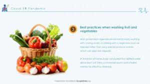 Vegetables for Coronavirus
