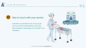 Pandemic Doctors PPT Template