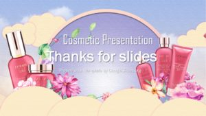 Thanks for Slide - Cosmetics