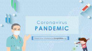 Coronavirus template for PPT