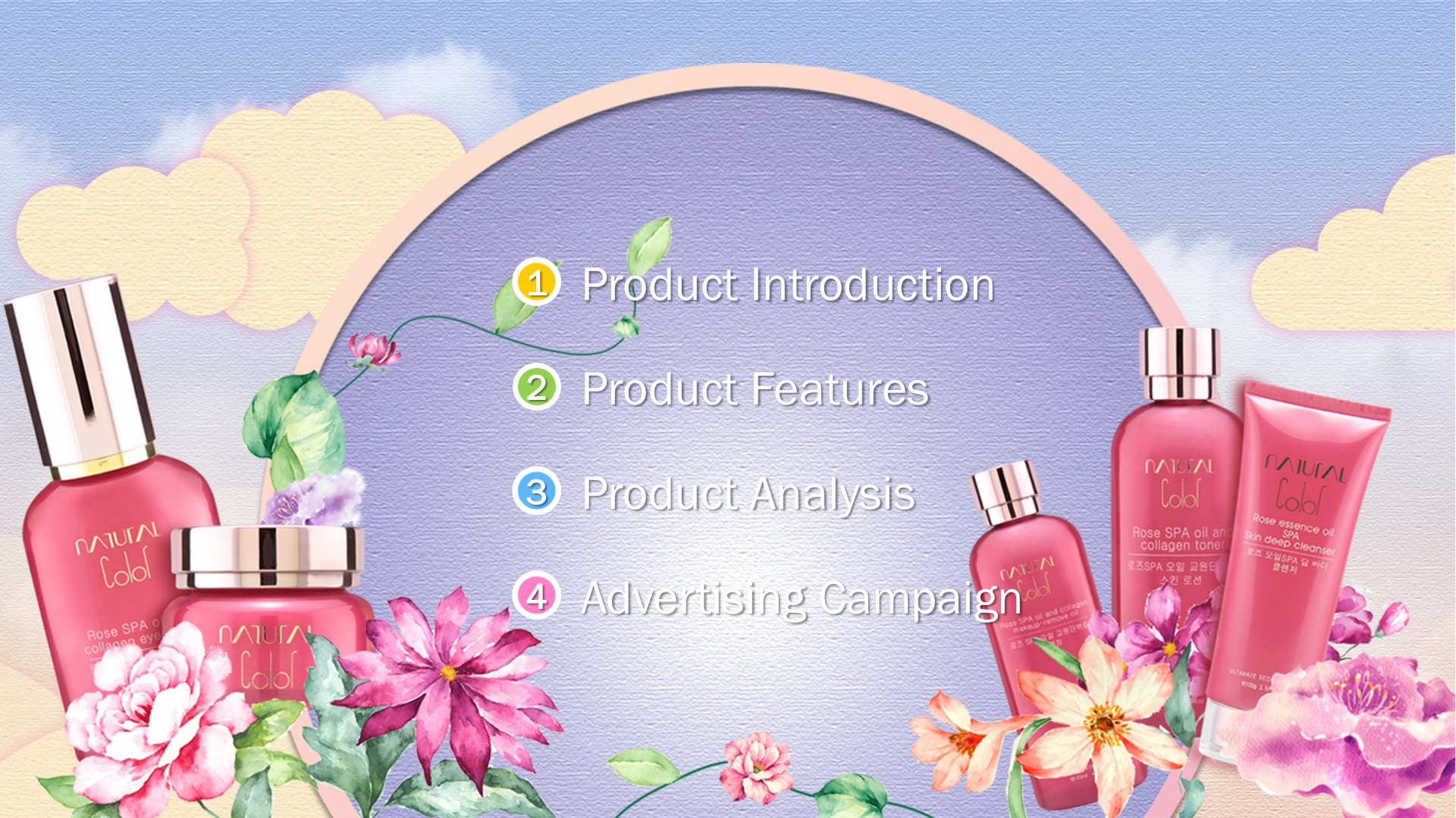 Cosmetic Product Theme