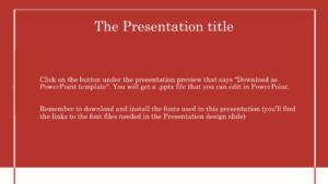 Healthy Presentation Background