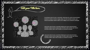 Blackboard Keynote template