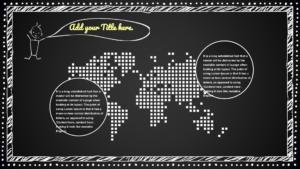 Blackboard Map Slides