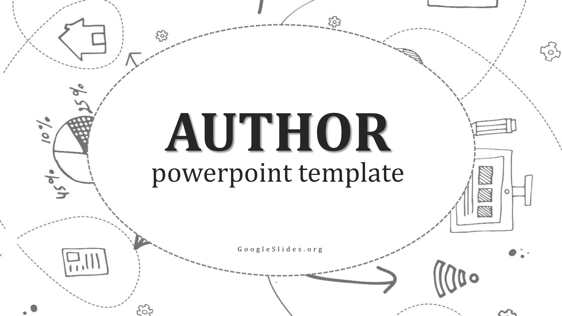 Author Powerpoint Theme