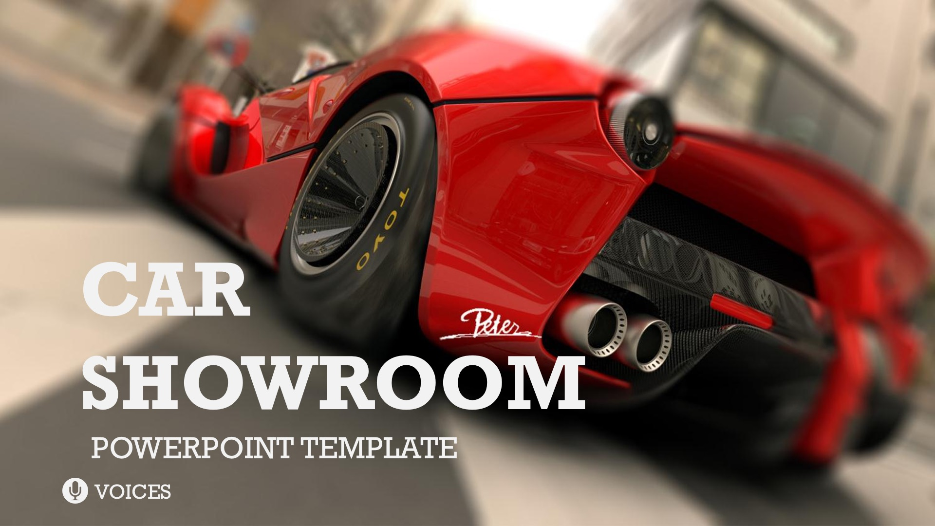 Car Showroom Powerpoint Template