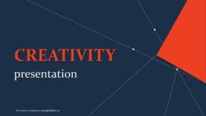 Creativity Presentation template