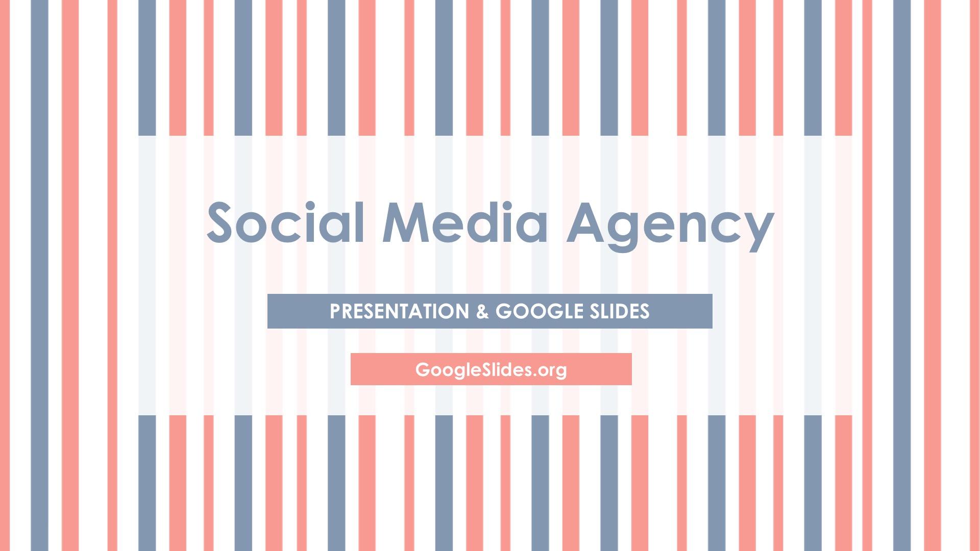 Social Media Google Slides