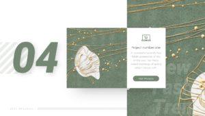 Fashion textile template