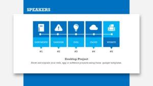 Blue Technologies Icon Set