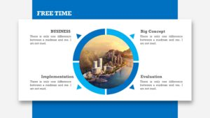 Blue Technologies Powerpoint Template