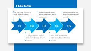 Blue Technologies PPT Chart