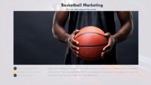 Basketball Sport template
