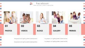 Social Facebook PPT Template
