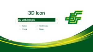 3D Icon Style