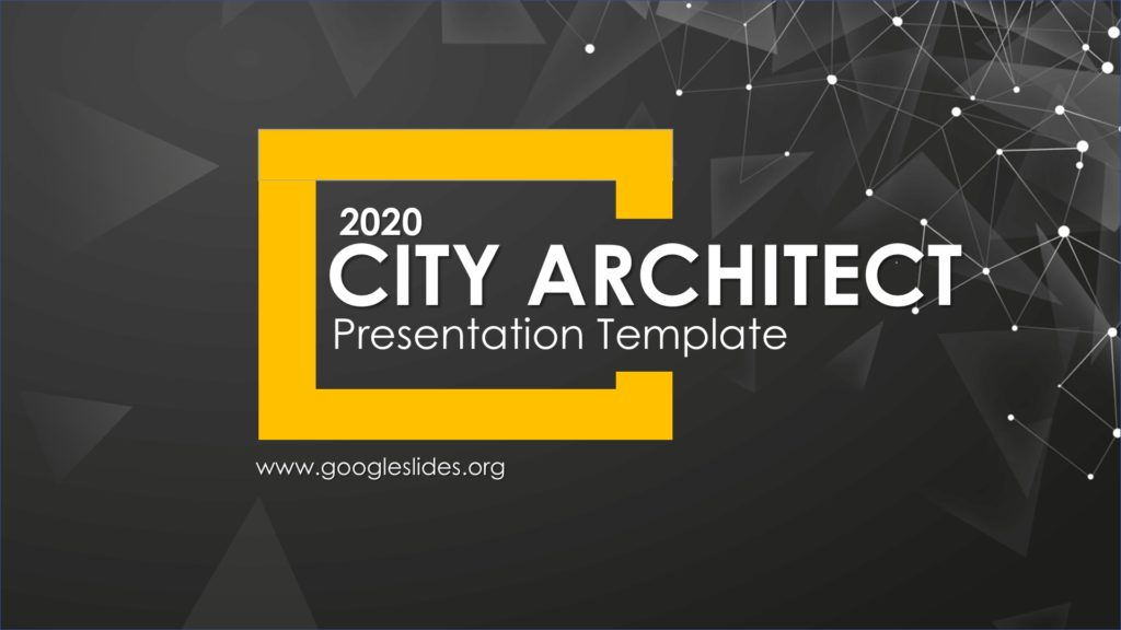 City Architect PPT Template