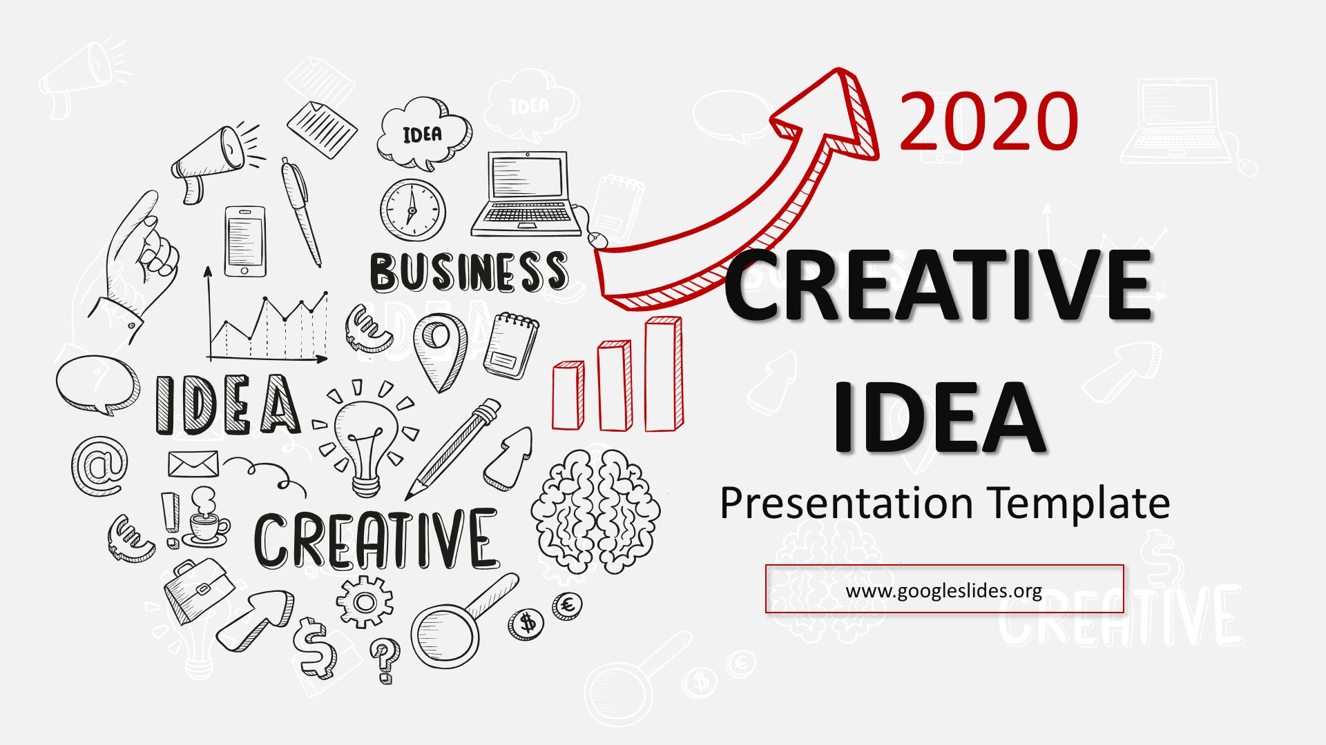 Creative Idea Presentation template