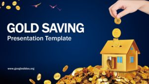 Gold Saving Presentation Template