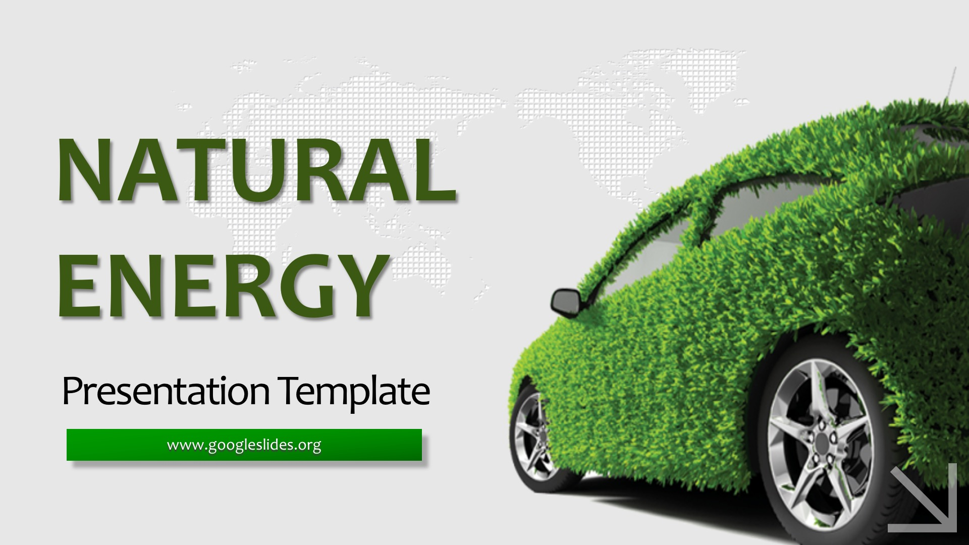 Natural Energy PPT Template