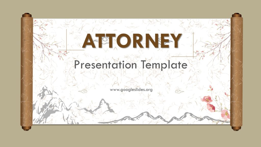 Attorney Powerpoint Template