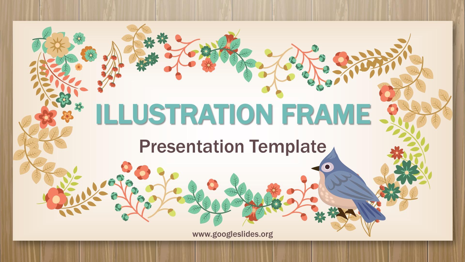 illustration Frame Presentation