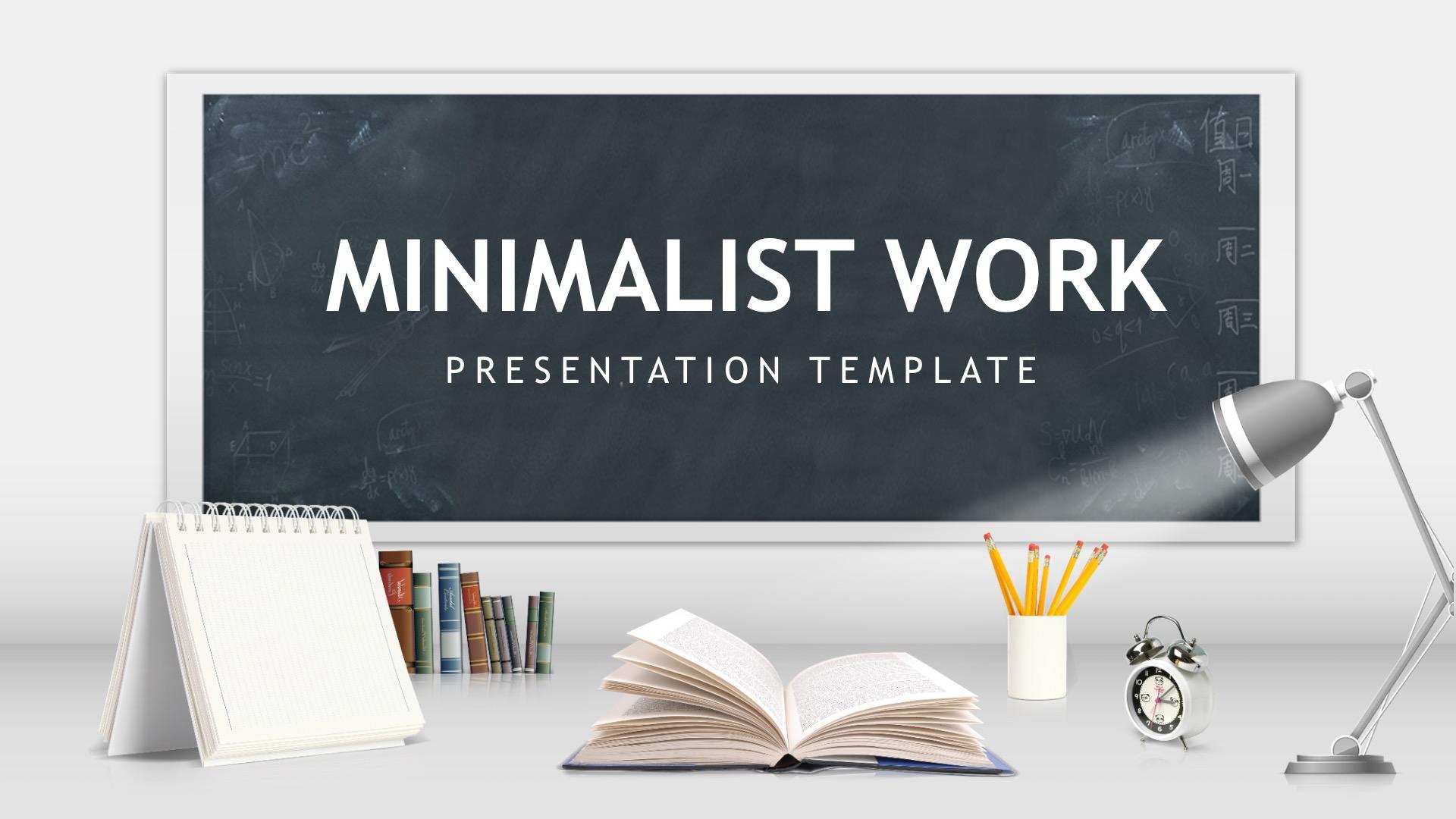 Minimalist Work PPT Backgrounds 1